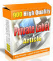 900 PLR Articles High Quality