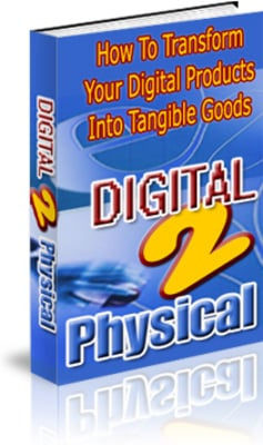 Product picture How To Transform Your Digital Products Into Tangible Goods